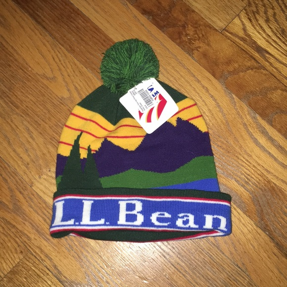 84688ce3 L.L. Bean Accessories | Nwt Ll Bean Pompom Hat | Poshmark